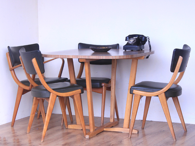 Benchairs Retro Dining Chairs, £400
