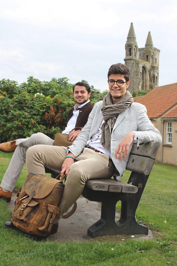 st andrews university style