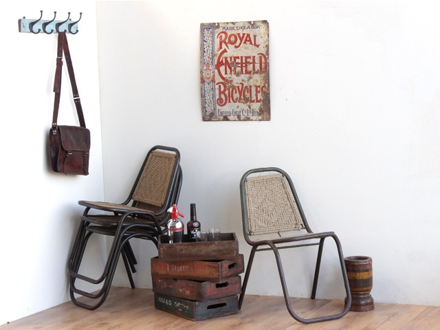 Vintage Stacking Chairs, £200 for four