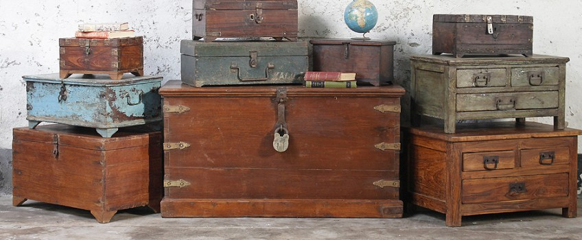 The History Of Wooden Chests And Storage Boxes