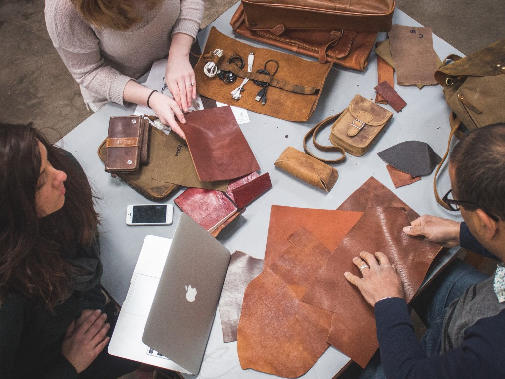 ethically sourced leather bags and accessories