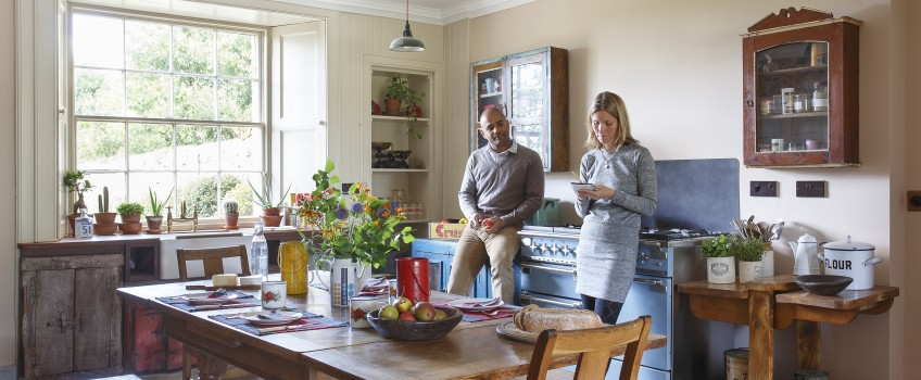 A Home Tour in Period Living | by Scaramanga