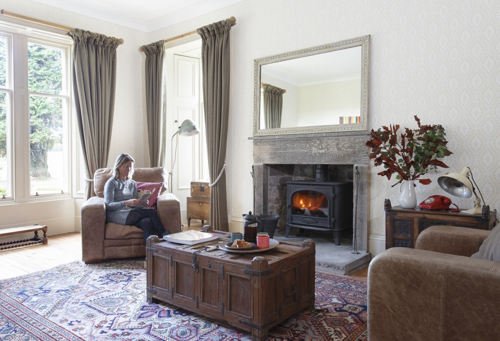 living room vintage furniture by scaramanga