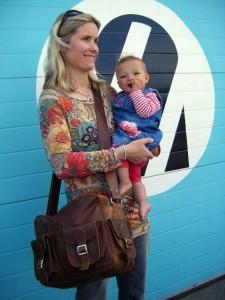 Emma, Ella and their Scaramanga Vintage Flight Bag 2