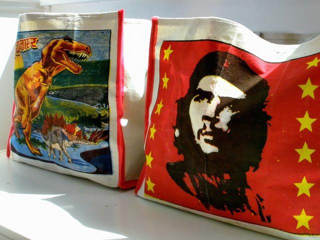 Canvas Shopping Bags, £4.50