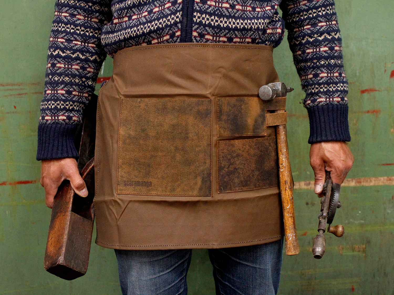 Wonderful Leather & Canvas Work Aprons | by Scaramanga » Scaramanga OG53