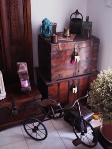 More old vintage wooden chests!