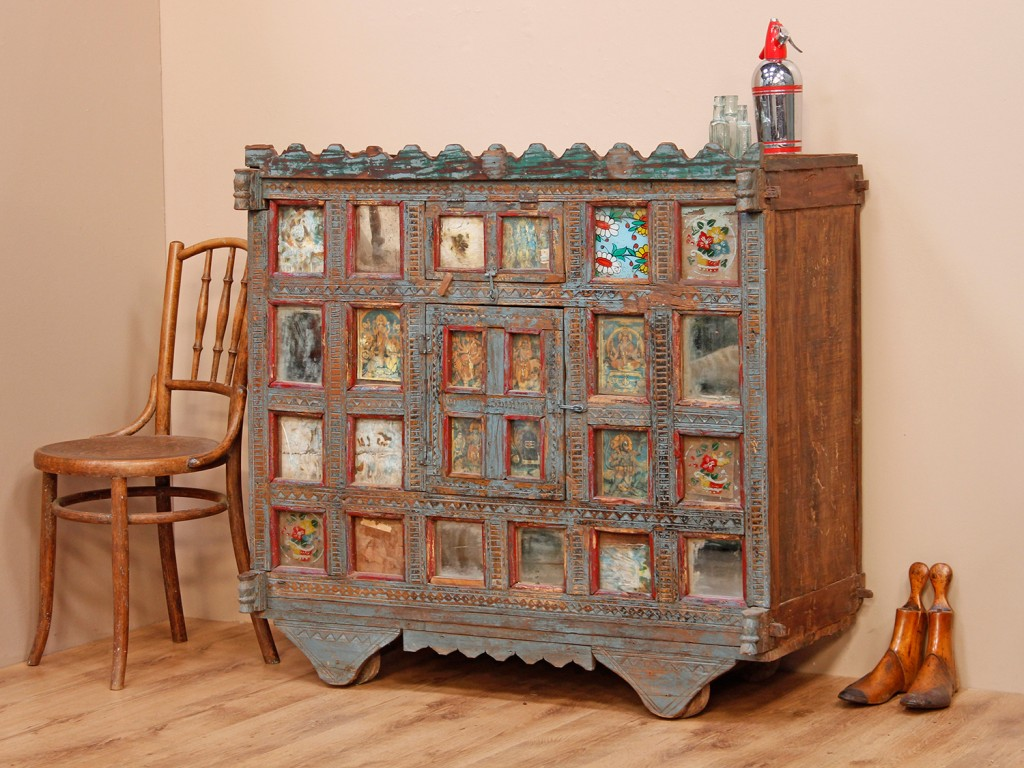 Antique damichya (Indian sideboard), https://www.scaramangashop.co.uk/item/8259/109/For-The-HomeAntique damichya (Indian sideboard), £1,250