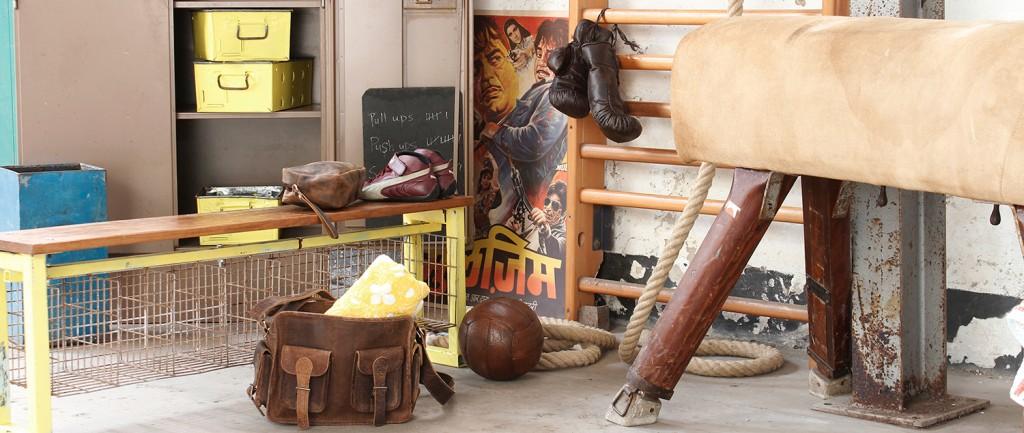 industrial gymnasium furniture by scaramanga