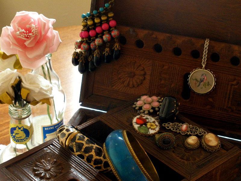 Old Jewellery Box By Scaramanga £140