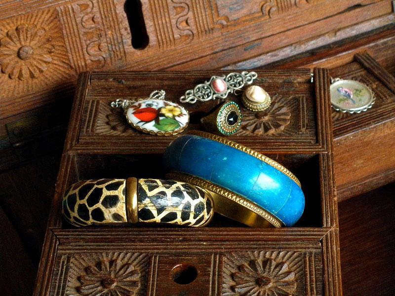 Scaramanga Old Wooden Box