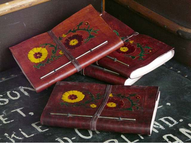 Meenakshi Leather Journal, £35