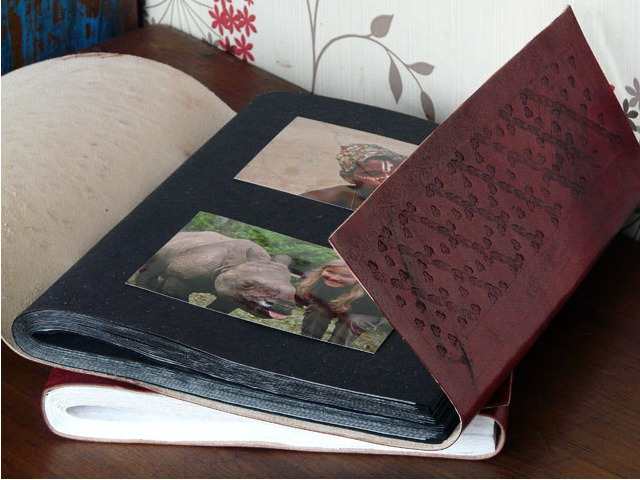 Leather Photo Album, £35