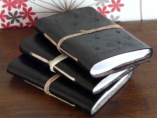 Balck Leather Journal, £6.75