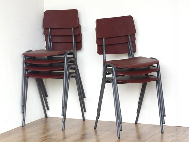 Retro School Chairs by Remploy, £65 per Pair