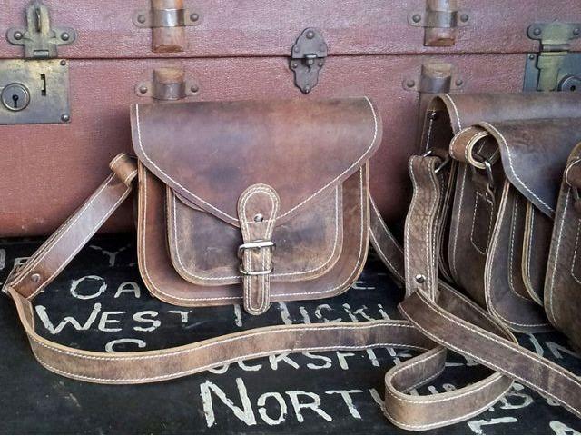 9 Inch Saddle Bag, £42