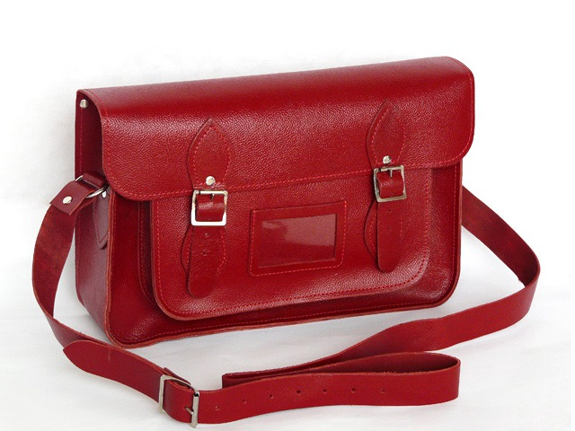 14.5 Inch Classic Leather Satchel, £76