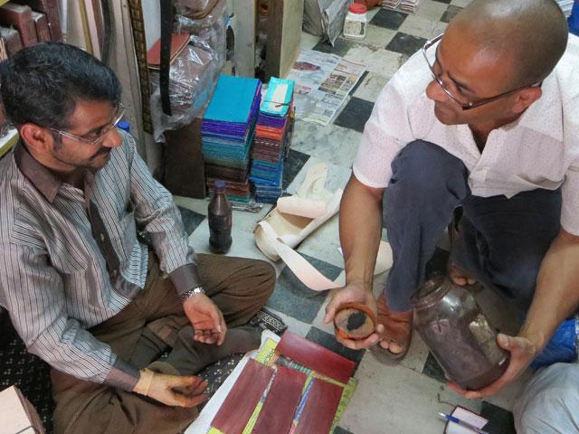 Hitesh and Carl discuss binding journal