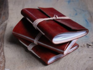 Brown Leather Journal £6