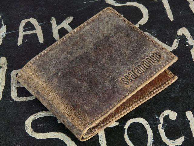 Men's Leather Wallet, £25