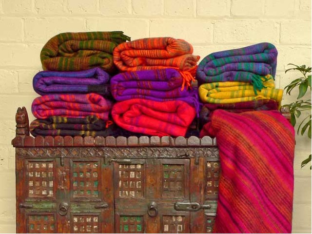Woolly Blankets, £15