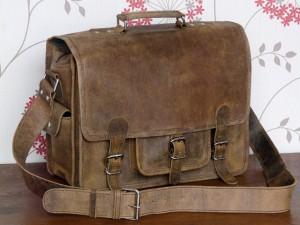 Scaramanga's Medium Leather Overlander