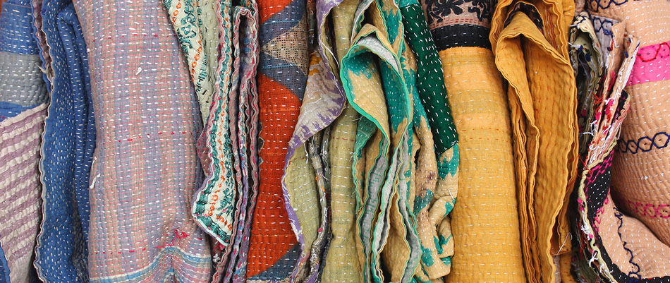 vintage fabric and textiles