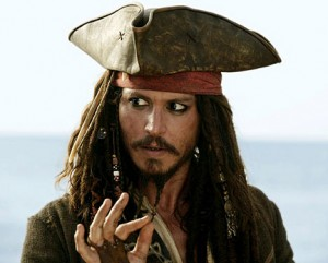 Captain Jack Sparrow - The Famous Pirate of Today!