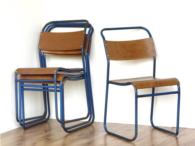 Remploy Stacking Vintage Chairs, £90 per pair