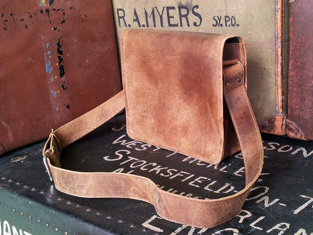 iPad Leather Messenger Bag, £57.50