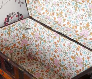 Original Vintage Trunk Interior