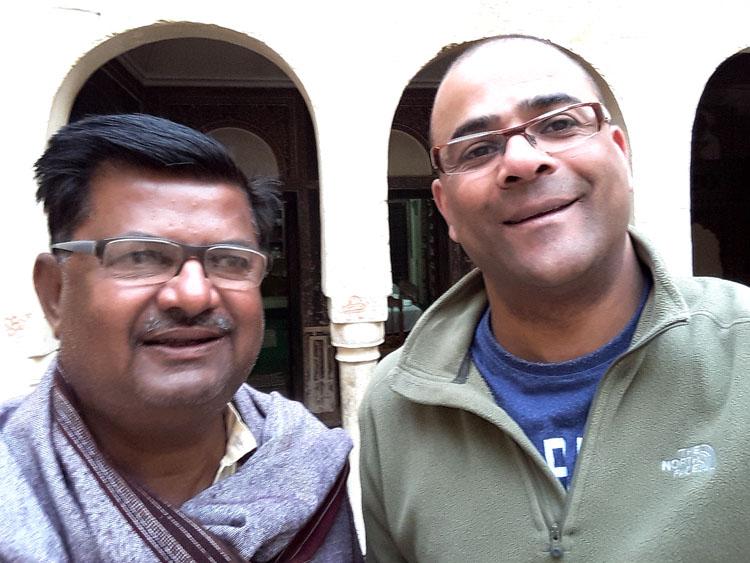 Narayan Niwas owner Thakur Tejpal Singhji