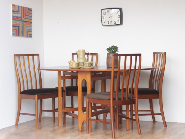 Retro Teak Chairs, £170