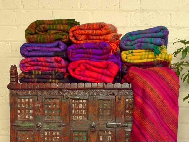 Woolly Blanket, £15