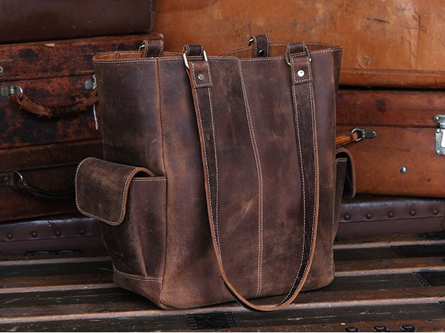 Classic Leather Tote Bag, £95
