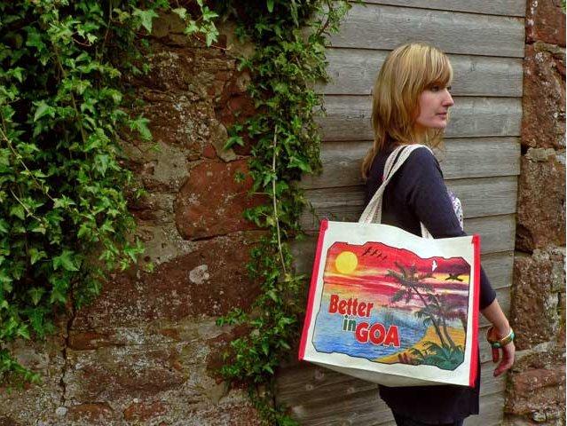 Glorious Goa Ethical Canvas Bag, £4.50