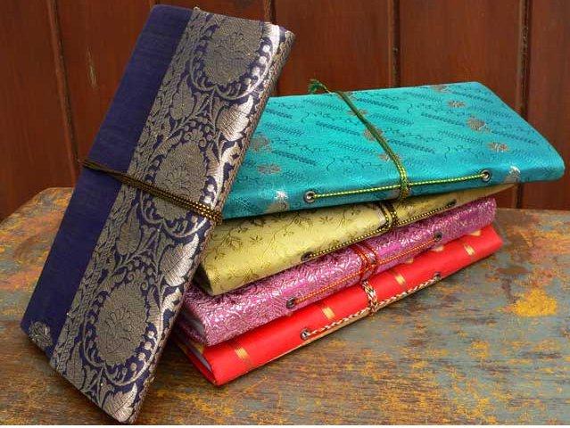Silky Sari Handmade Travel Notebook, £4.87