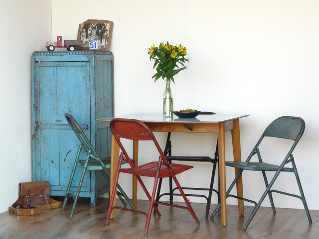 Vintage Folding Chairs £40