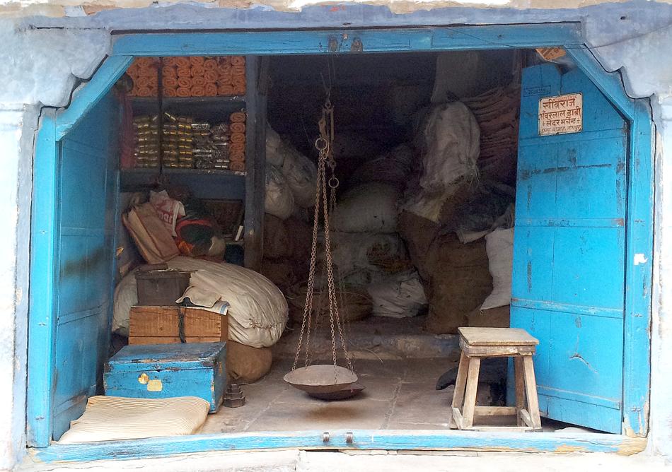 Old store in Sadar market in Jodhpur