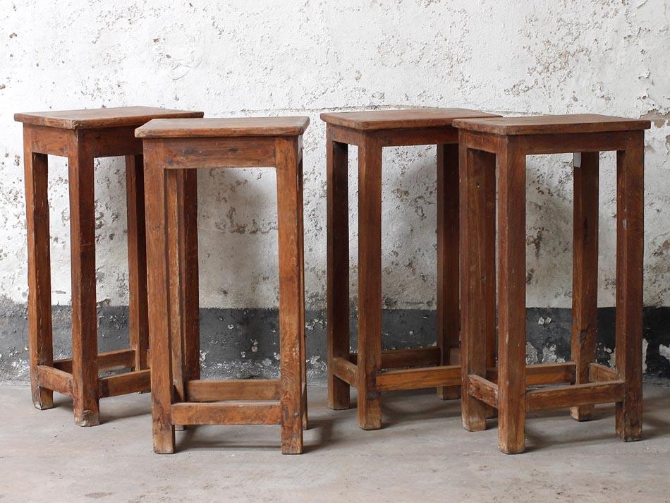 vinatage stoll lab stools