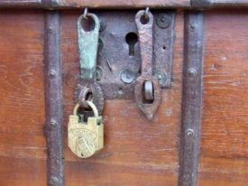 Earn a free Old Brass Padlock by trying out your Pirate Speak skills!