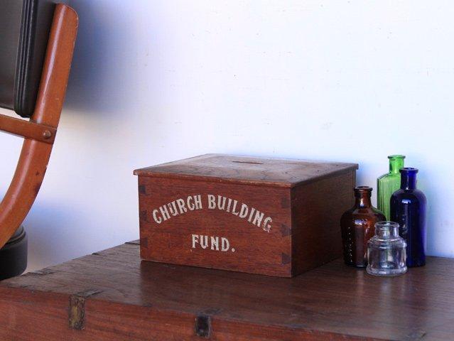Vintage Wooden Money Box, £50