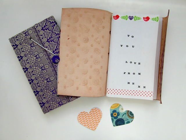 Scaramanga journals make ideal Valentines Day gifts