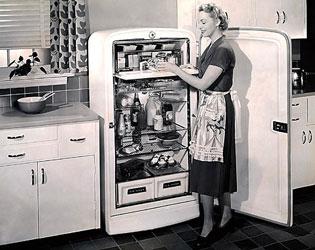 Post War Vintage Kitchen