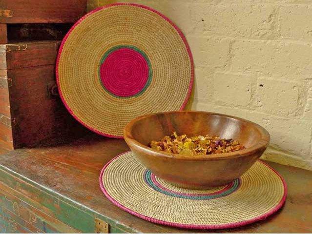 Handwoven Fulani Place Mats, £10