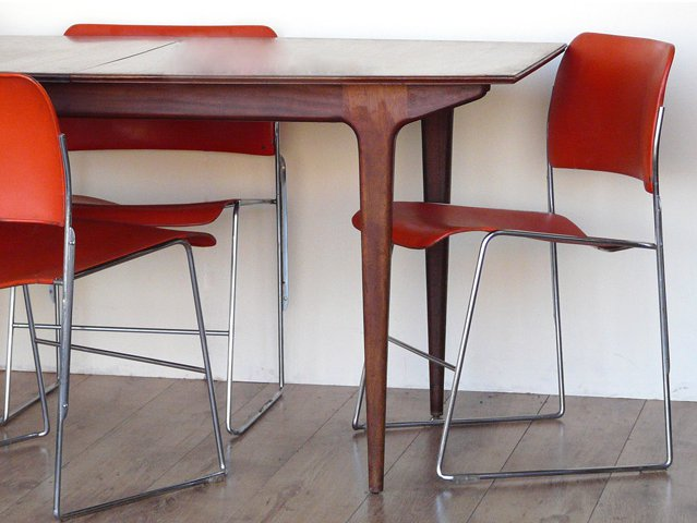 The General Fireproofing Company Red Retro Chairs, £400