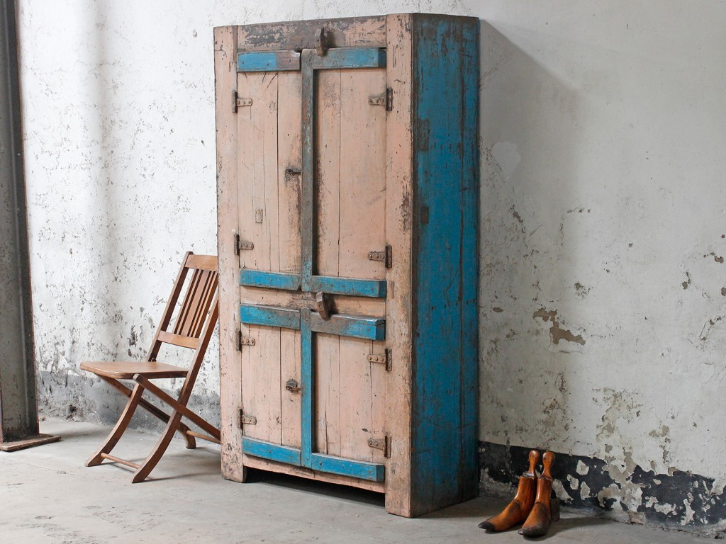 A simple original farmhouse cupboard