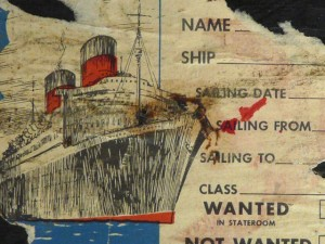 Old Shipping Label