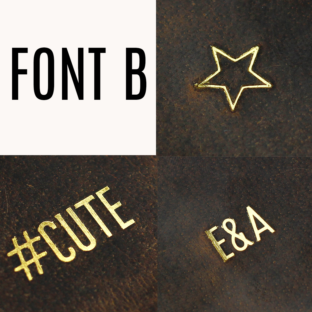 font b SPECIAL CHARACTERS