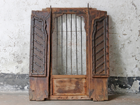 View our  Antique Shuttered Window from the  Upcycled collection